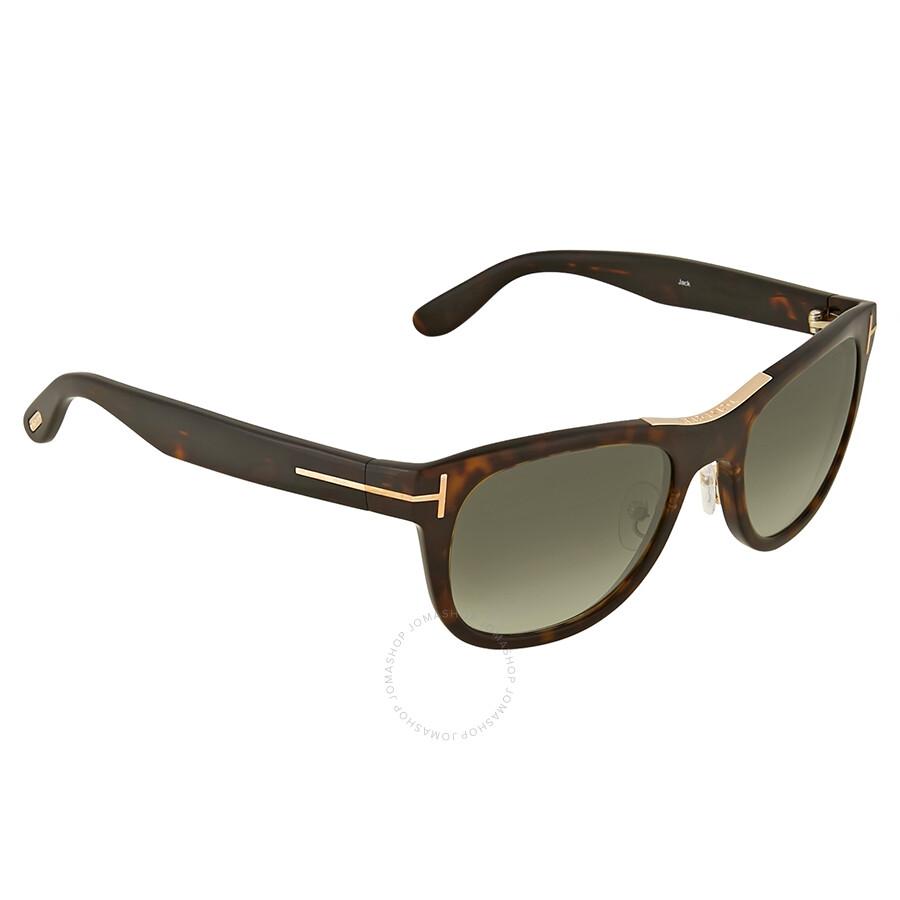 afdd590ef92 Tom Ford Jack Green Gradient Sunglasses Tom Ford Jack Green Gradient  Sunglasses ...