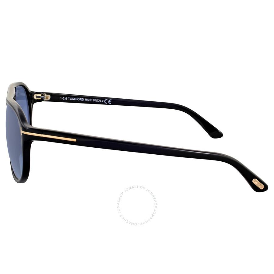 ade3072e5a5 Tom Ford Jacob Gradient Turquoise Aviator Sunglasses - Tom Ford ...