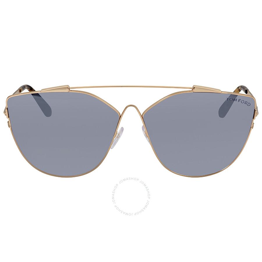 Ford Tom Grey Jacquelyn Cat 28c Mirror Eye Ft0563 Sunglasses 7dSAdwqF