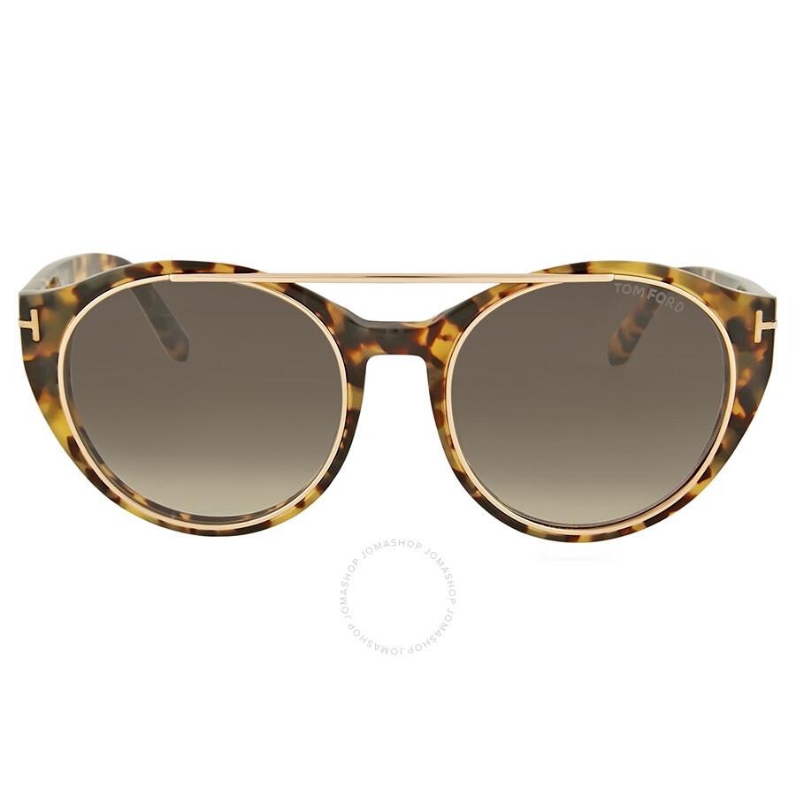 98e8dbb23741 Tom Ford Joan Grey Gradient Sunglasses - Tom Ford - Sunglasses ...
