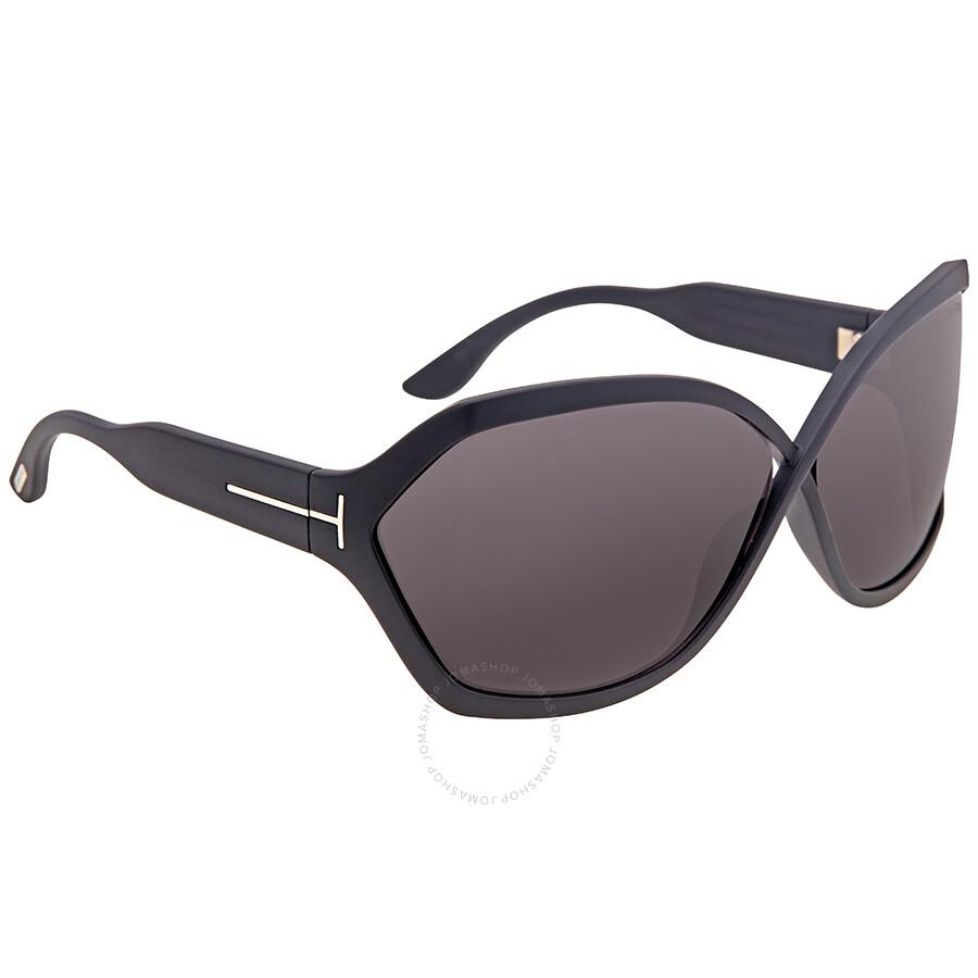 34e7a3eda1 Tom Ford Julianne Matte Black Sunglasses Tom Ford Julianne Matte Black  Sunglasses ...