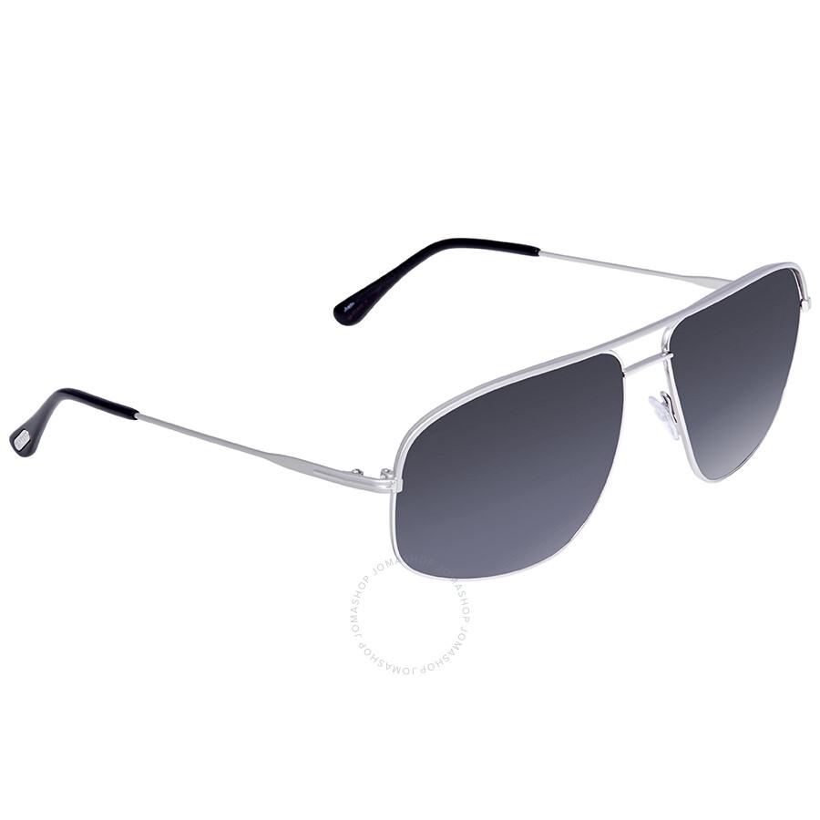 9171d67375c70 Tom Ford Justin Gradient Blue Sunglasses - Tom Ford - Sunglasses ...