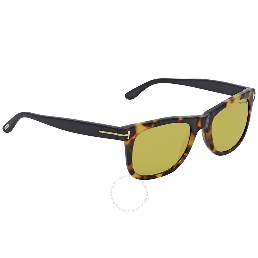 37610b1550d Tom Ford Leo Havana Sunglasses FT0336 55N - Tom Ford - Sunglasses ...