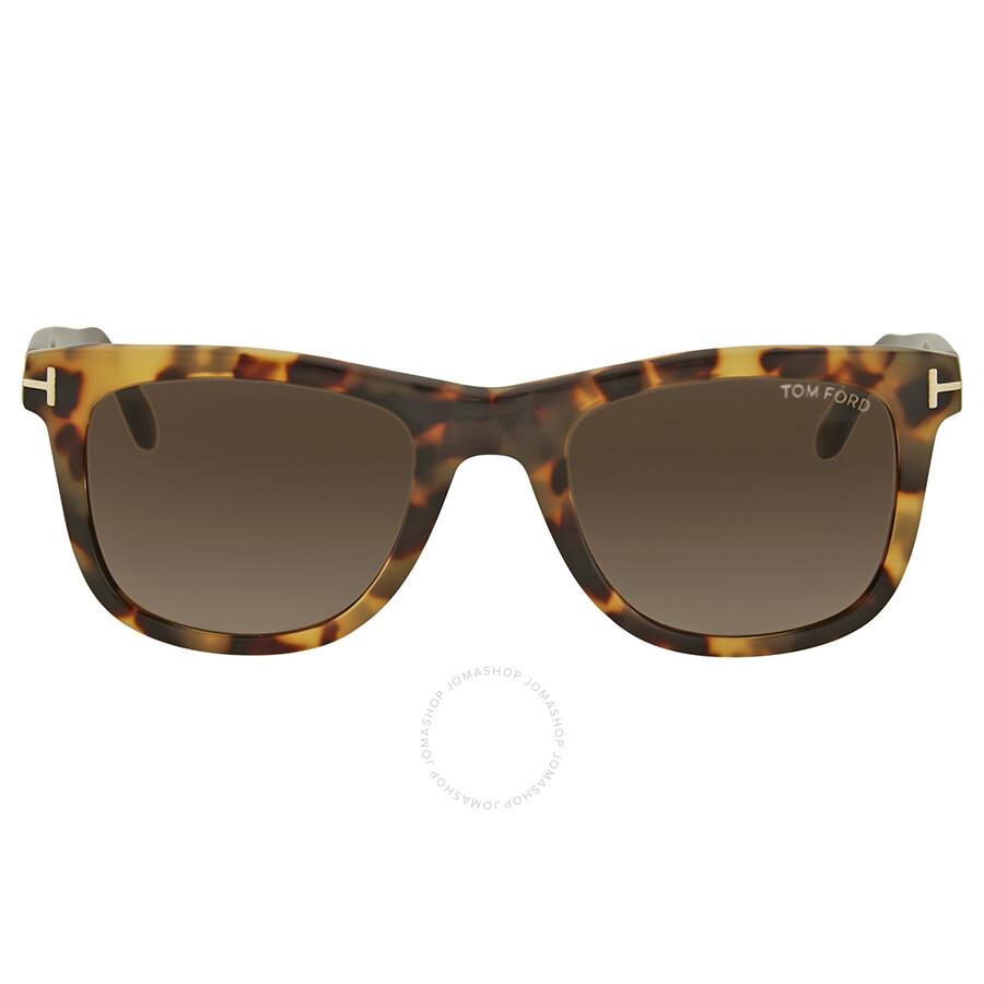 295eb6e2b5ef Tom Ford Leo Havanna Sunglasses - Tom Ford - Sunglasses - Jomashop