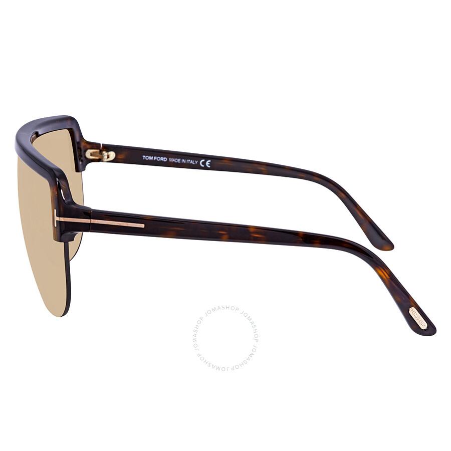 b928f5bcc2 Tom Ford Light Brown Rectangular Sunglasses FT 0560 52E - Tom Ford ...