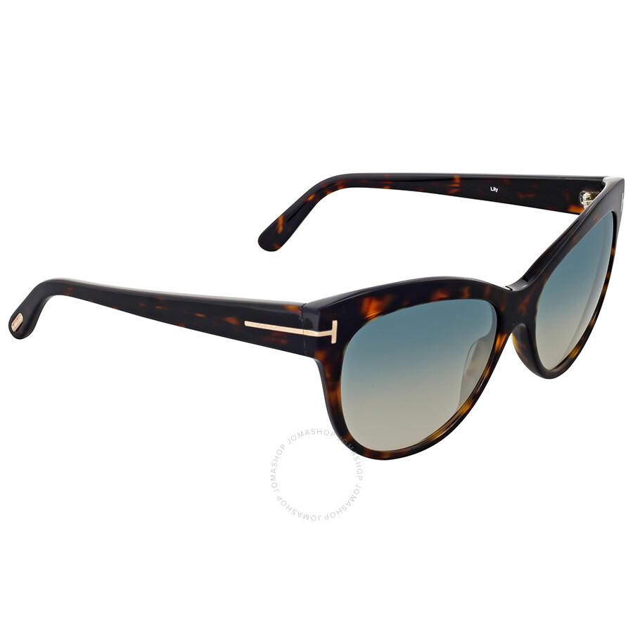 861716c5bedd Tom Ford Lily Dark Havana Sunglasses Tom Ford Lily Dark Havana Sunglasses  ...