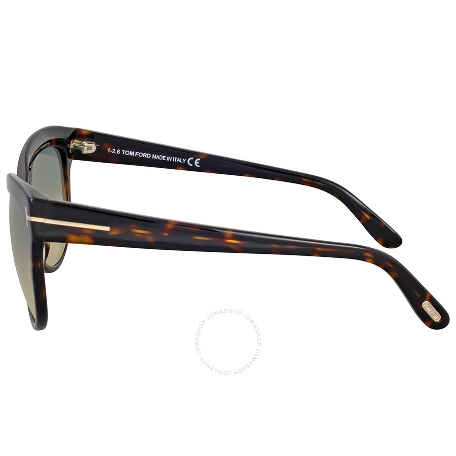 a7a3b1b053 Tom Ford Lily Dark Havana Sunglasses - Tom Ford - Sunglasses - Jomashop