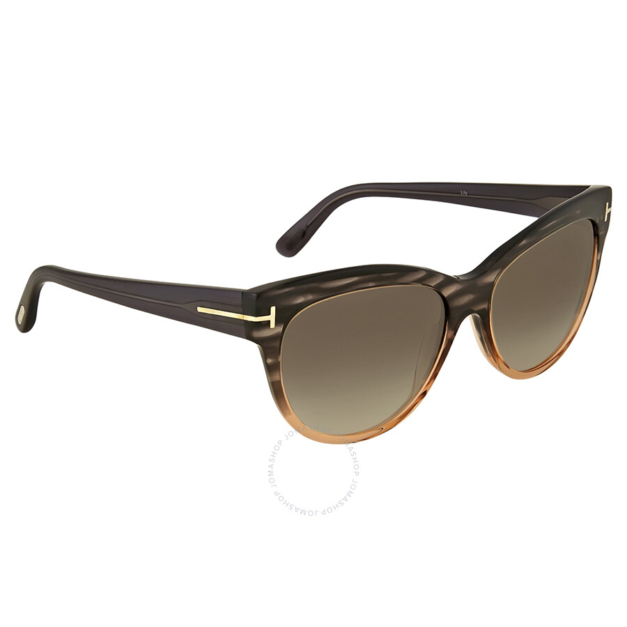 f298d173088 Tom Ford Lily Green Gradient Cat Eye Sunglasses - Tom Ford ...