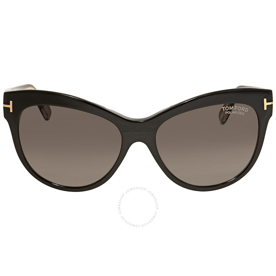8bac1e1019 Tom Ford Lily Brown Cat Eye Sunglasses FT0430 05D - Tom Ford ...