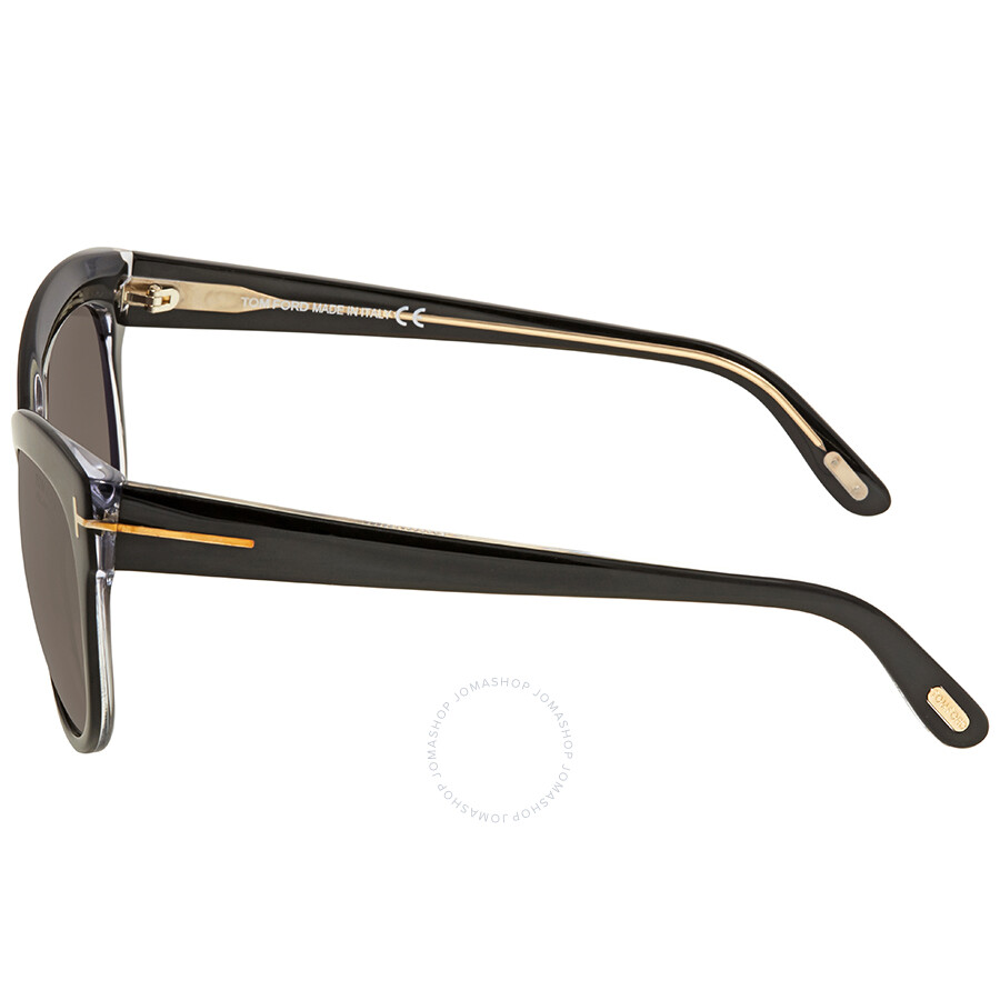 b0fba46378 Tom Ford Lily Brown Cat Eye Sunglasses FT0430 05D - Tom Ford ...