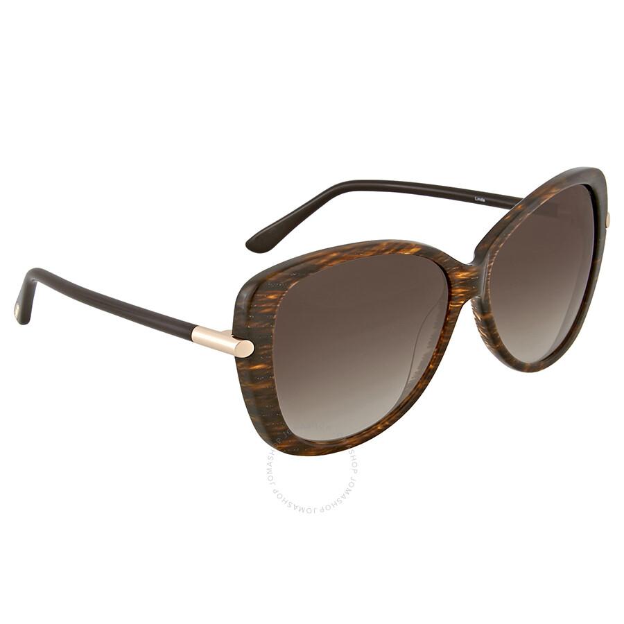 5f59aa3f131bb Tom Ford Linda Brown Gradient Sunglasses Tom Ford Linda Brown Gradient  Sunglasses ...