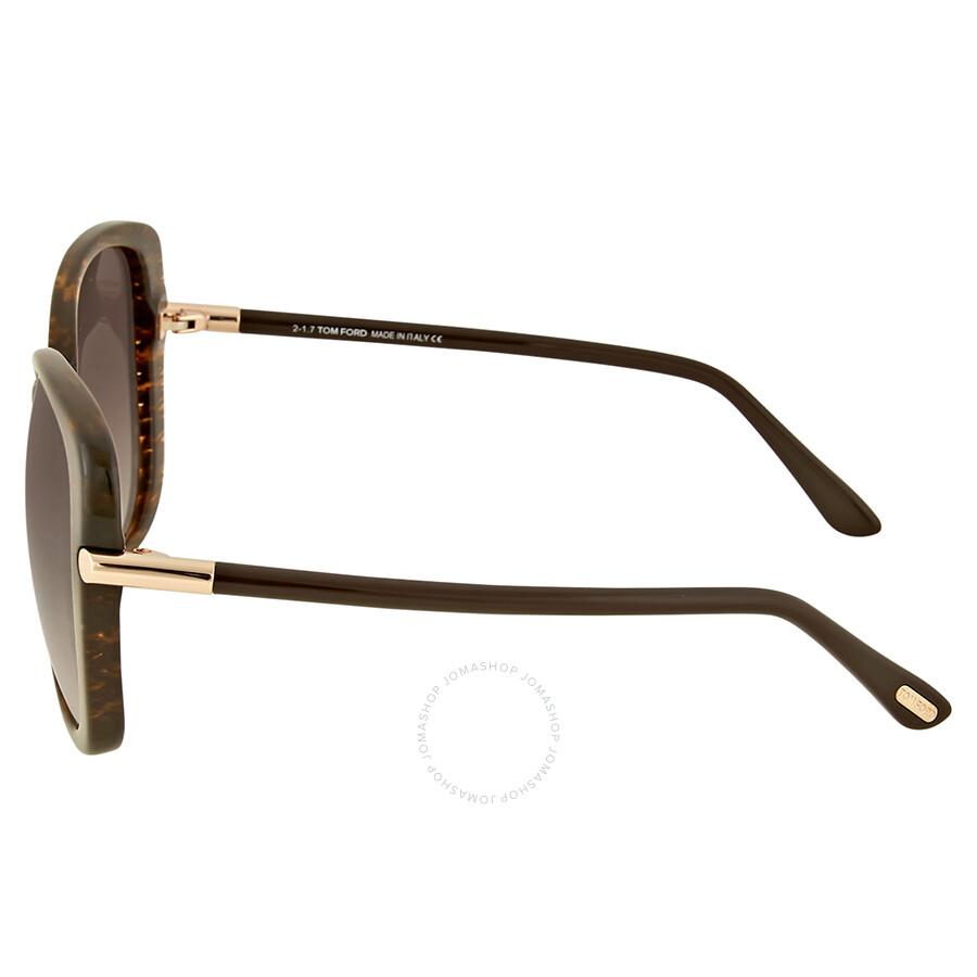 22b73464bda Tom Ford Linda Brown Gradient Sunglasses - Tom Ford - Sunglasses ...