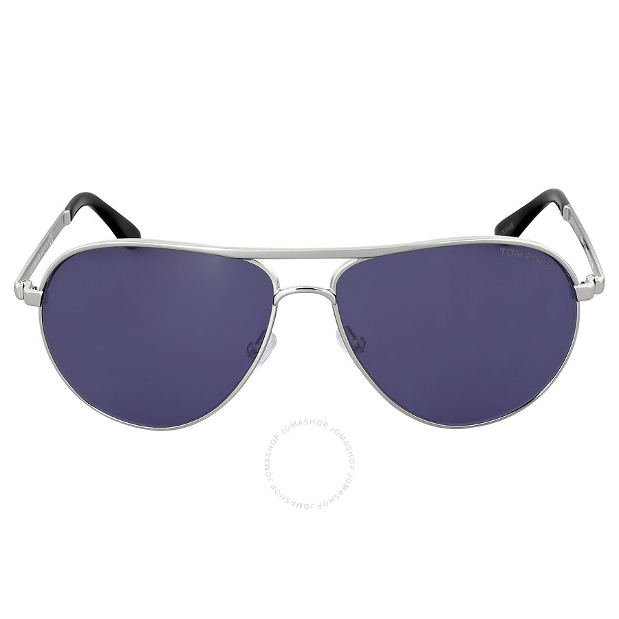 e8c79a83409 Tom Ford Marko Blue Sunglasses FT144-18V - Tom Ford - Sunglasses ...