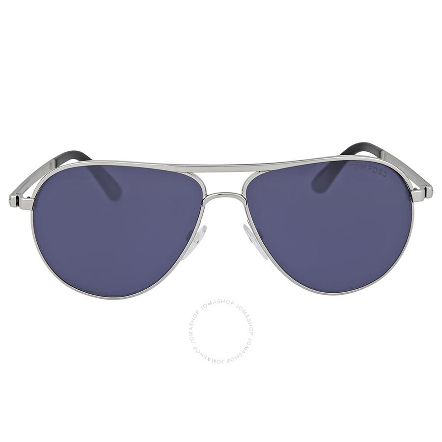 c918a2ab14f Tom Ford Marko Rhodium Metal Sunglasses - Tom Ford - Sunglasses ...