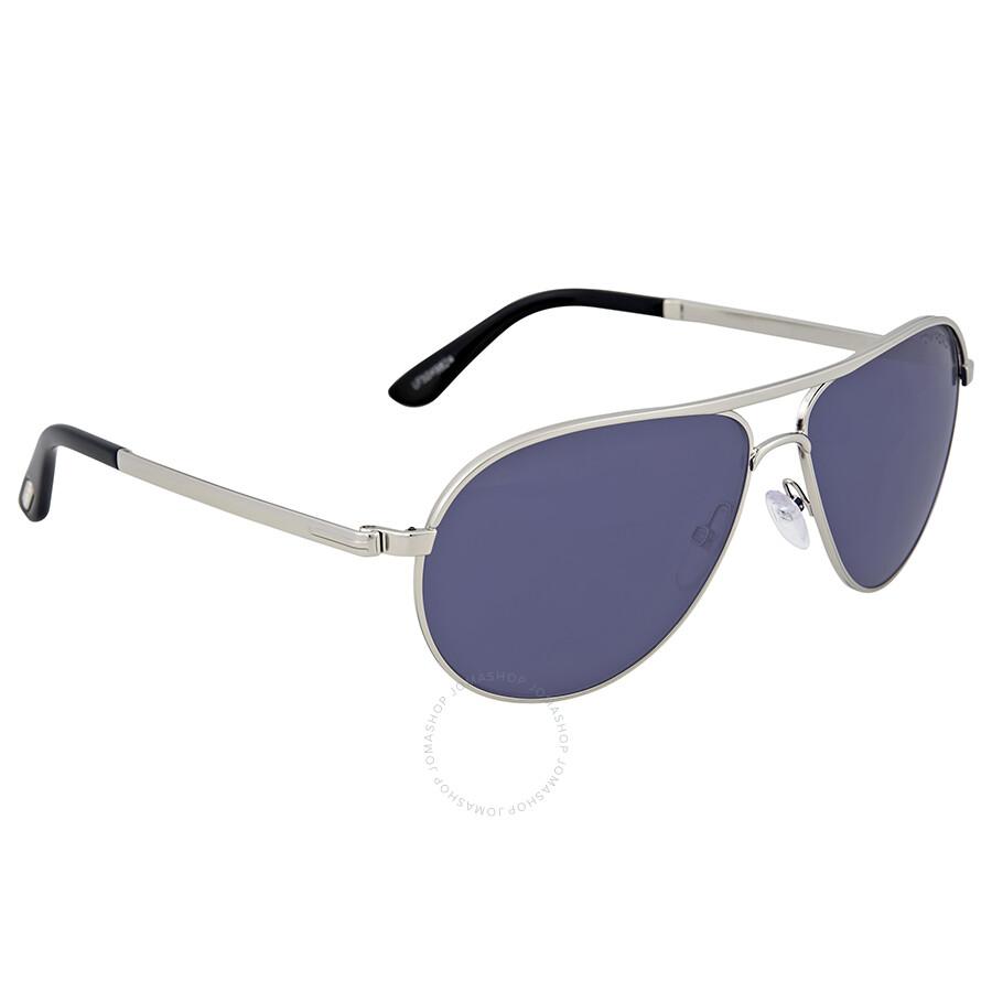 fee0d39e4c9 Tom Ford Marko Rhodium Metal Sunglasses - Tom Ford - Sunglasses ...