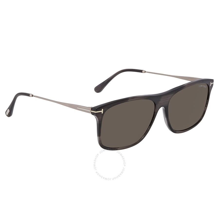 tom ford max grey rectangular men 39 s sunglasses ft0588 20a tom ford sunglasses jomashop. Black Bedroom Furniture Sets. Home Design Ideas