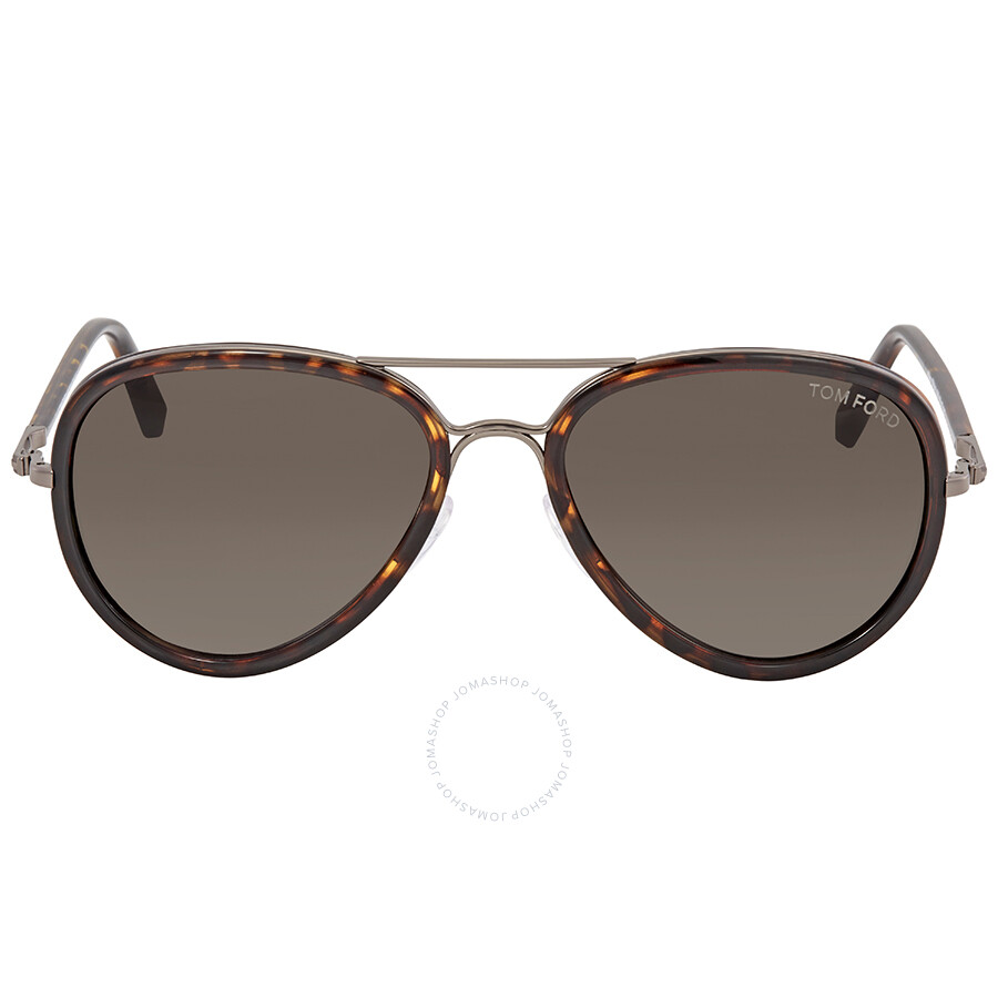 84e144f4935f0 Tom Ford Miles Tortoise Aviator Sunglasses FT0341 09P - Tom Ford ...