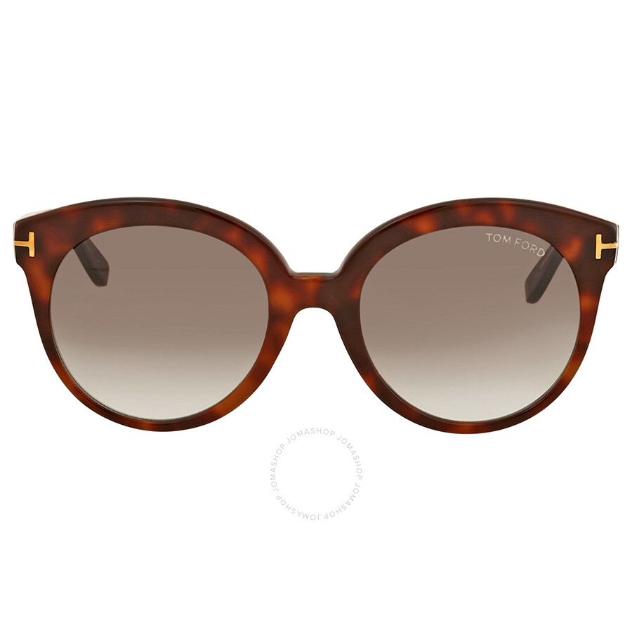 837021e08d2 Tom Ford Monica Havana Cat Eye Sunglasses - Tom Ford - Sunglasses ...