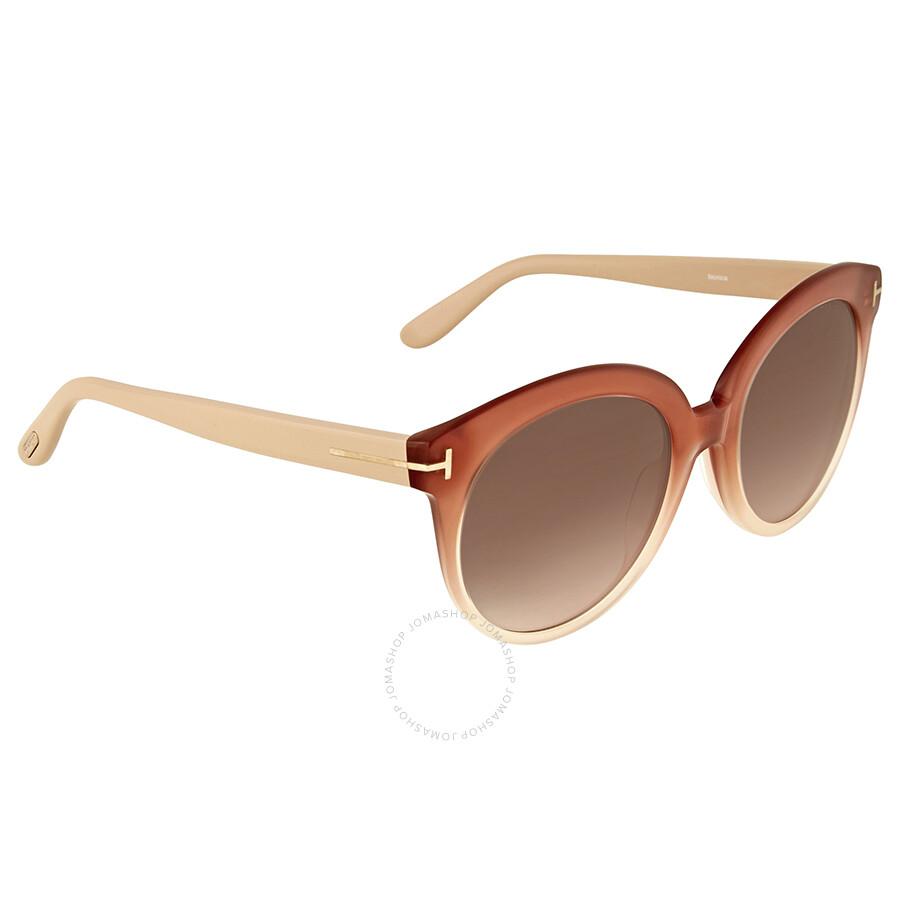 cc1af767f6c93 Tom Ford Monica Pink Gradient Sunglasses Tom Ford Monica Pink Gradient  Sunglasses ...