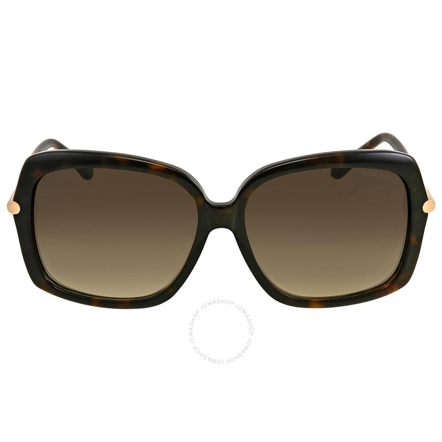 836c98513630 Tom Ford Paloma Brown Gradient Sunglasses - Tom Ford - Sunglasses ...