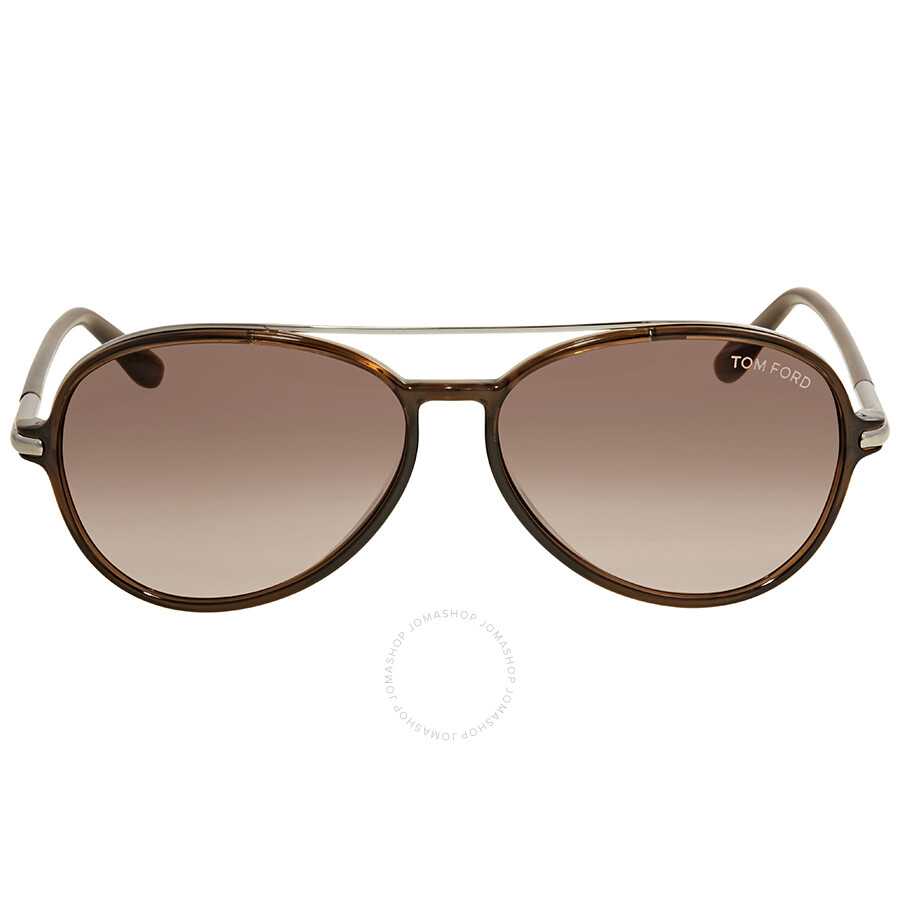 5789fe01929 Tom Ford Ramone Gradient Brown Sunglasses - Tom Ford - Sunglasses ...