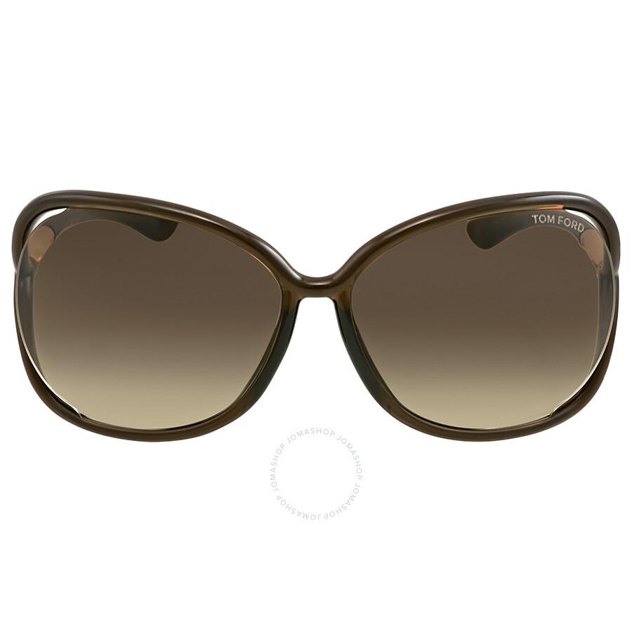 9a90f6e193a Tom Ford Raquel Dark Brown Sunglasses - Tom Ford - Sunglasses - Jomashop