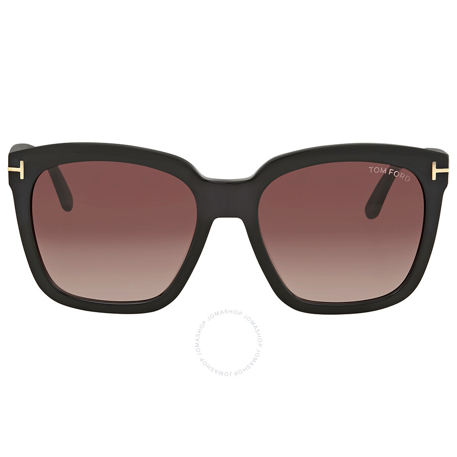 a22b3fb950 Tom Ford Red Gradient Square Sunglasses FT0502 01T - Tom Ford ...