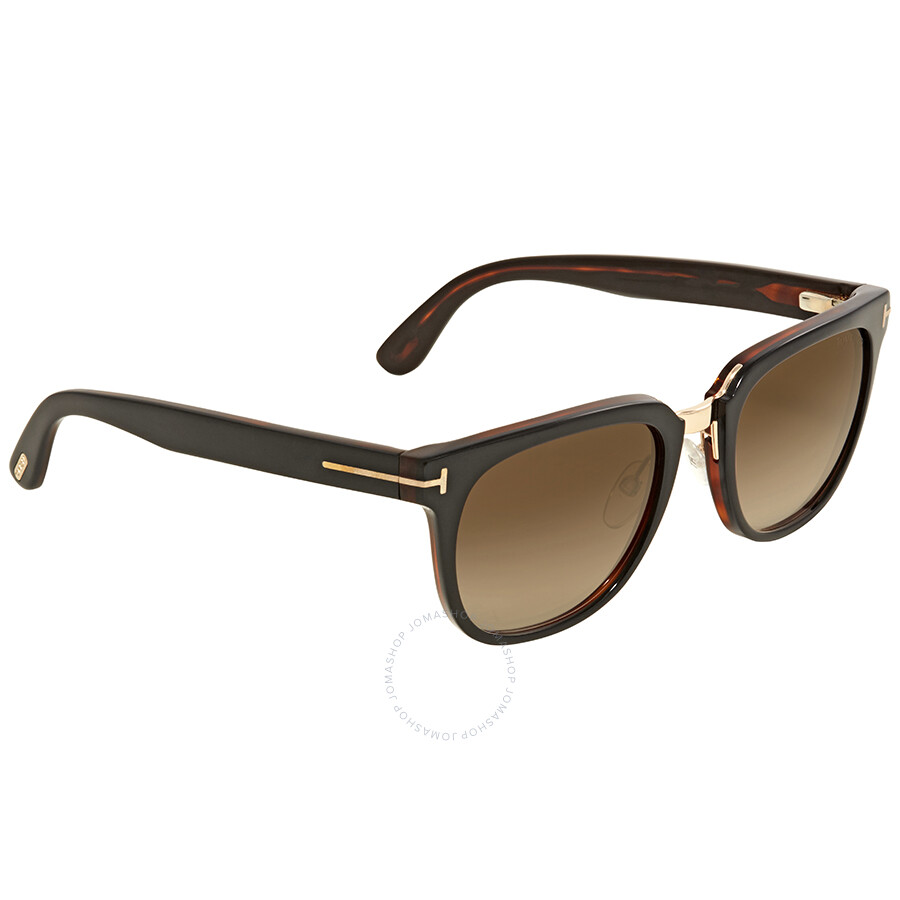 Tom Ford Rock Gradient Brown Sunglasses - Tom Ford - Sunglasses - Jomashop