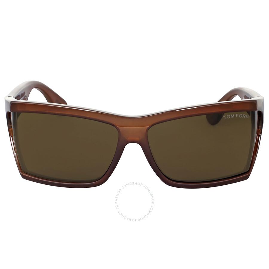 3616ba5f2d40a Tom Ford Sasha Brown Sunglasses - Tom Ford - Sunglasses - Jomashop