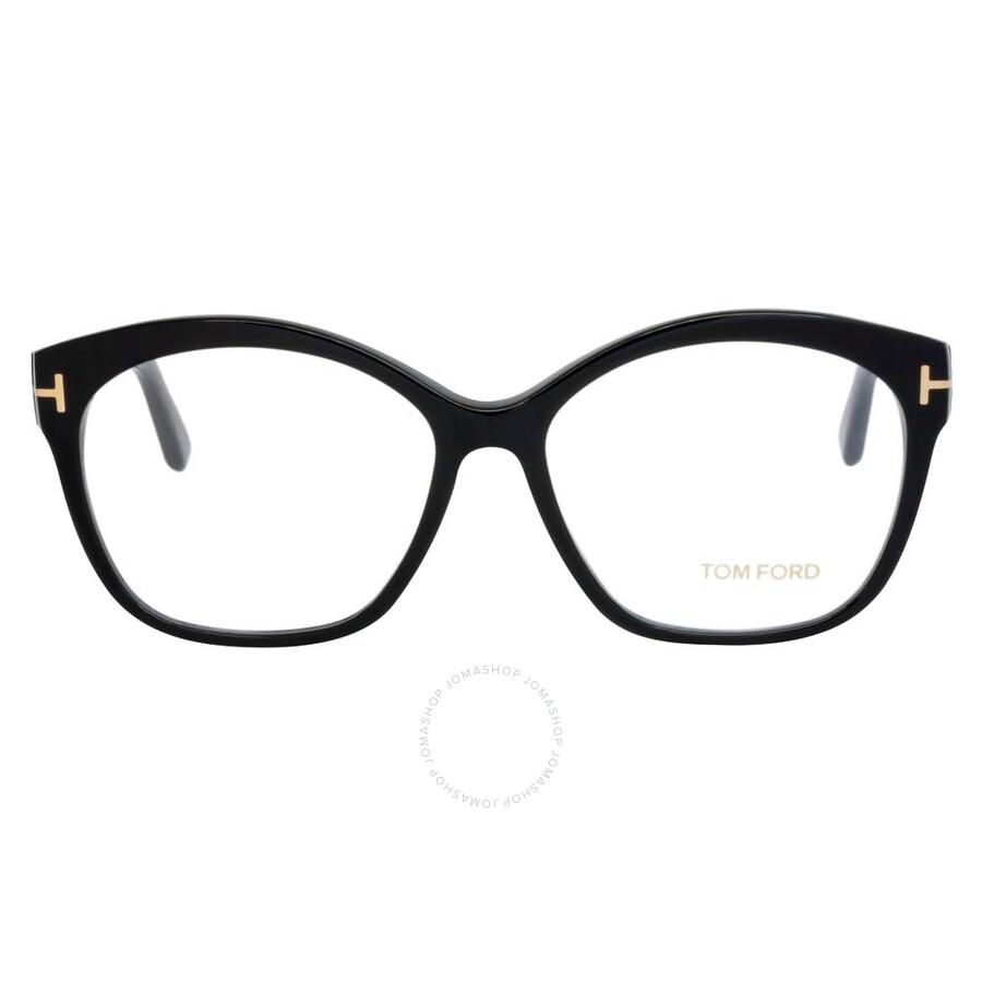 10f19be5c40 Tom Ford Shiny Black Eyeglasses FT5435 001 57 - Tom Ford ...