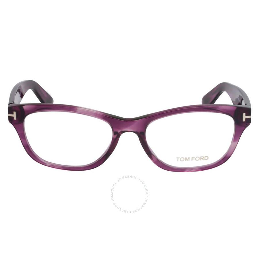 acf56ef068ec Tom Ford Shiny Violet Eyeglasses FT5425 081 53 - Tom Ford ...