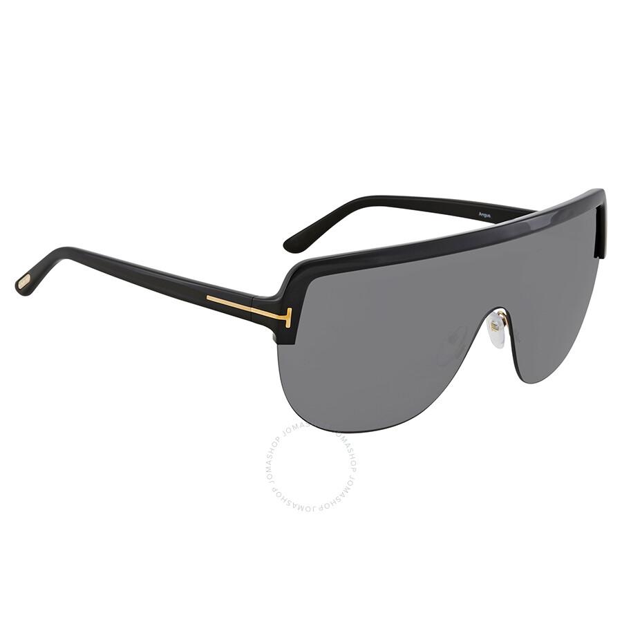 6e9ae5ceb8da0 Tom Ford Smoke Rectangular Sunglasses FT 0560 01A - Tom Ford ...