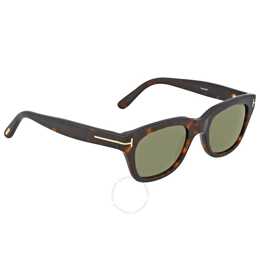 tom ford snowdon havana green sunglasses 237 52n tom. Black Bedroom Furniture Sets. Home Design Ideas