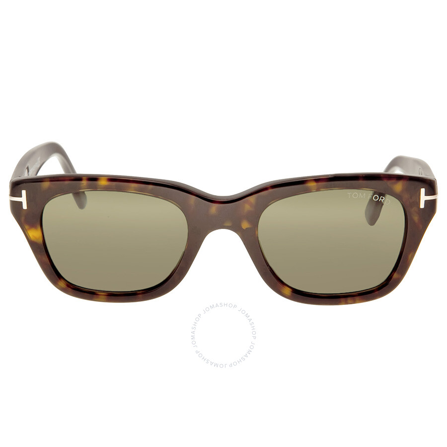 6c417e75826 Tom Ford Snowdon Havana Grey Green Lens Sunglasses Item No. TF0237-52N
