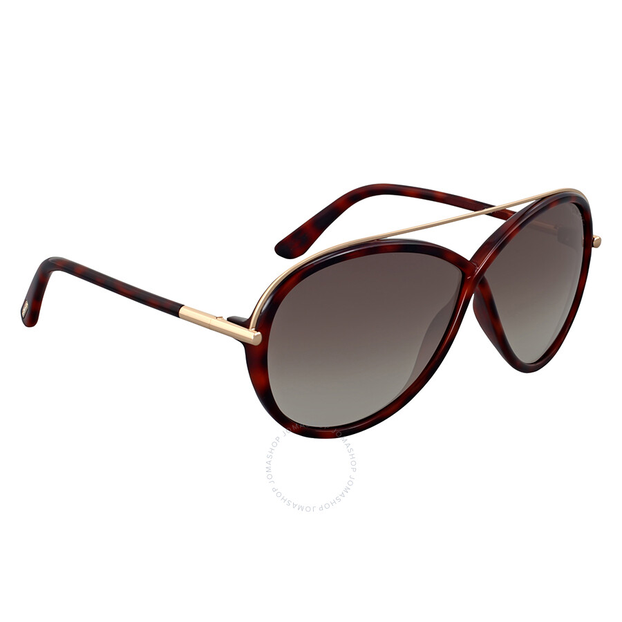 ad159afb81 Tom Ford Tamara Dark Havana Sunglasses Tom Ford Tamara Dark Havana  Sunglasses ...