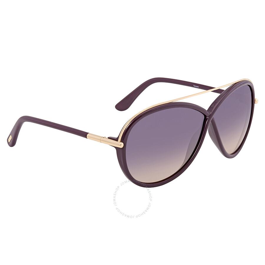 15e28176546d ... Tom Ford Tamara Purple Gradient Butterfly Sunglasses FT0454-81Z ...