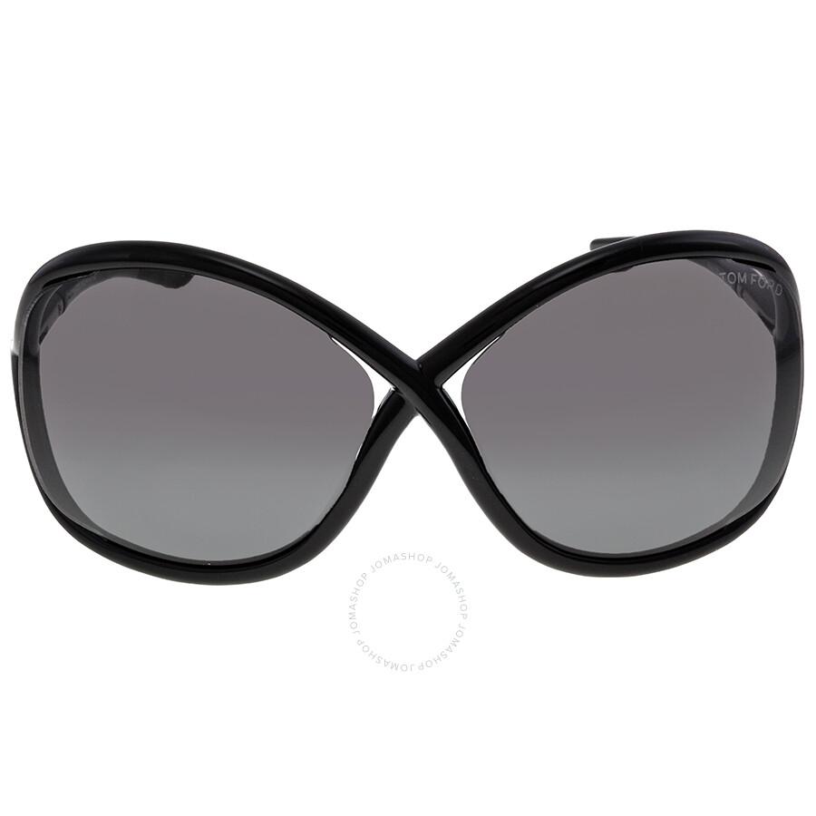 tom ford whitney black smoke sunglasses tf0009 199 tom. Black Bedroom Furniture Sets. Home Design Ideas