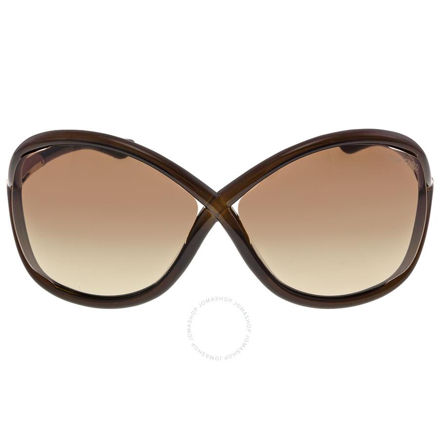 eb1e4392cca40 Tom Ford Whitney Brown Sunglasses TF0009-692 - Tom Ford - Sunglasses ...