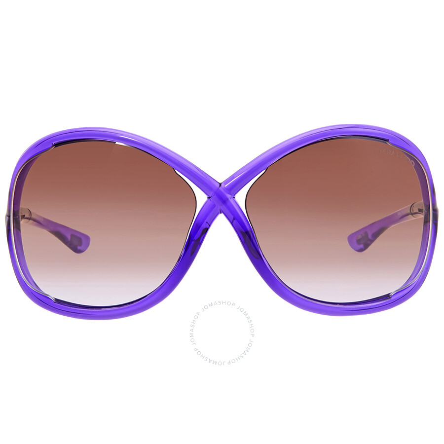 c7a952edb23 Tom Ford Whitney Violet Sunglasses - Tom Ford - Sunglasses - Jomashop