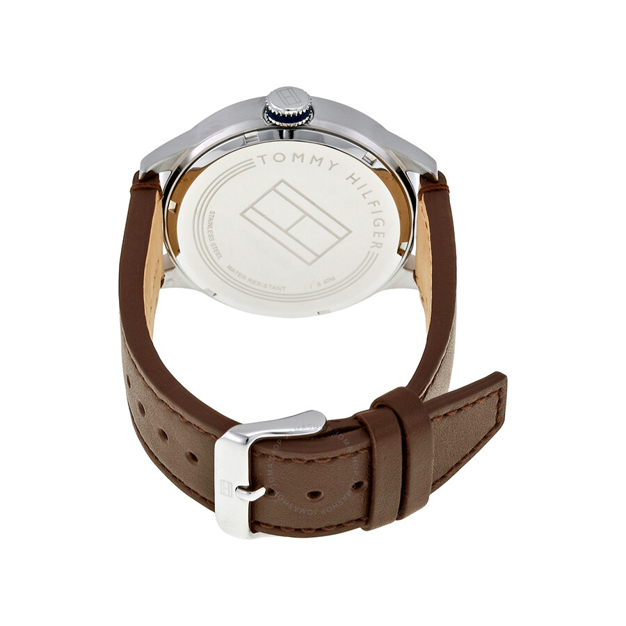 tommy hilfiger beige dial brown leather men 39 s watch 1791102 tommy hilfiger watches jomashop. Black Bedroom Furniture Sets. Home Design Ideas