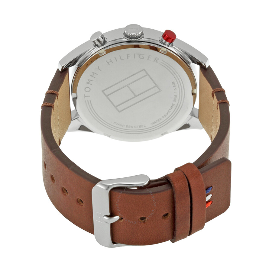 tommy hilfiger corbin beige dial brown leather men 39 s multifunction watch 1791208 tommy. Black Bedroom Furniture Sets. Home Design Ideas