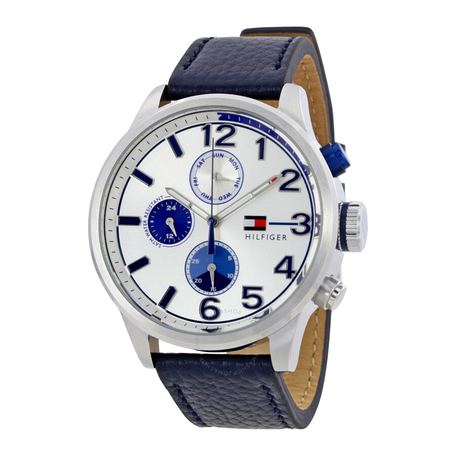 Tommy Hilfiger Jackson Multi-Function White Dial Men s Watch 1791240 ... d4a98dd140b