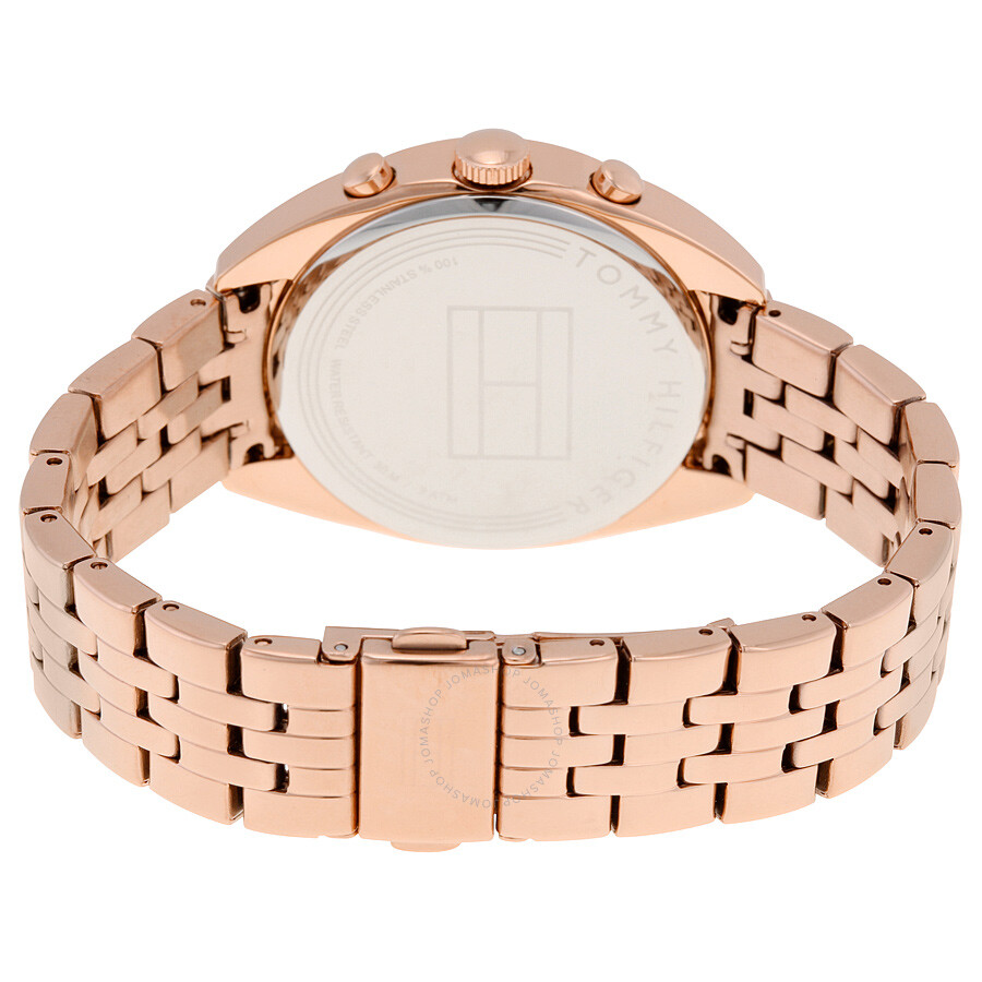 36a25b3e ... Tommy Hilfiger Mia Multifunction Silver Dial Rose Gold-tone Stainless  Steel Ladies Watch 1781572