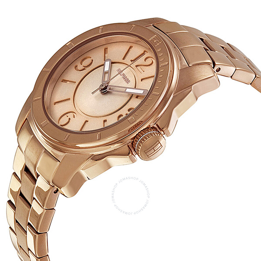 508fa4dc3 ... Tommy Hilfiger Rose Gold Dial Rose Gold Plated Steel Ladies Watch  1781141 ...