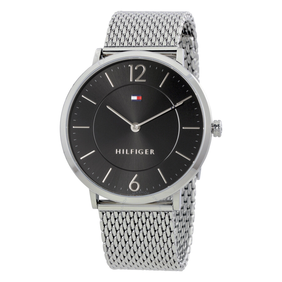 tommy hilfiger ultra slim black dial men 39 s watch 1710355. Black Bedroom Furniture Sets. Home Design Ideas