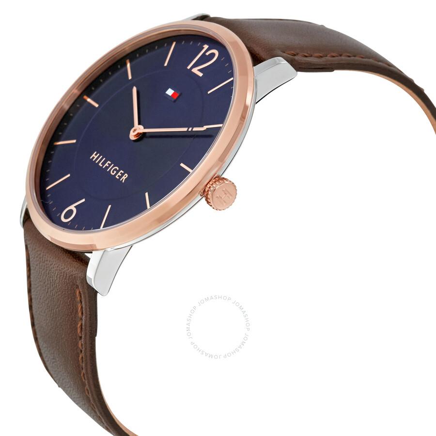 tommy hilfiger ultra slim blue dial men 39 s watch 1710354. Black Bedroom Furniture Sets. Home Design Ideas