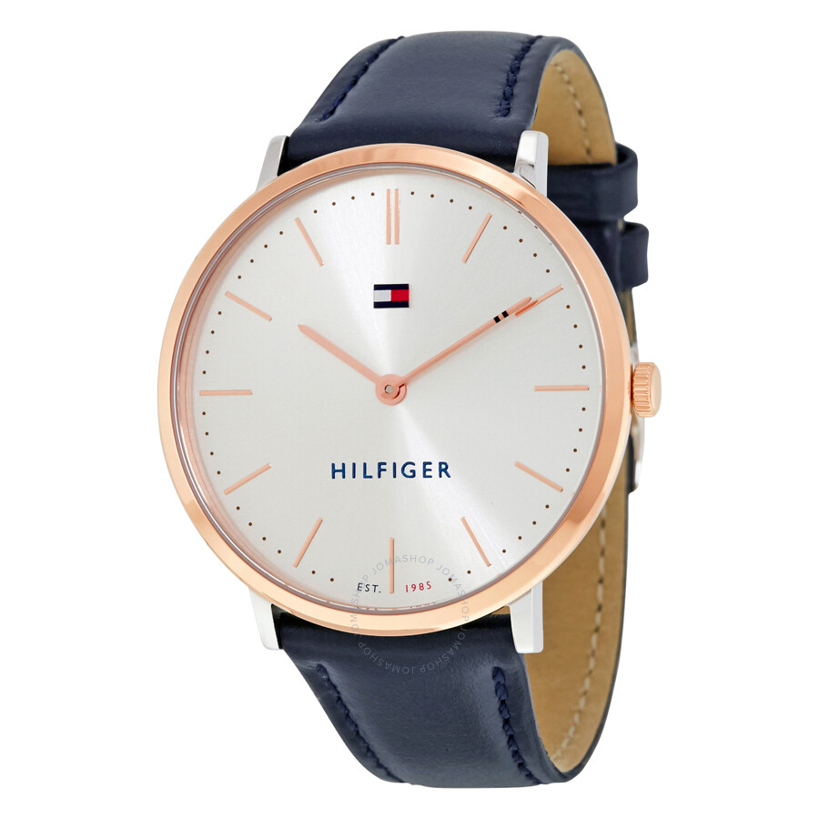 172148dde Tommy Hilfiger Ultra Slim White Dial Ladies Watch 1781689 - Tommy ...