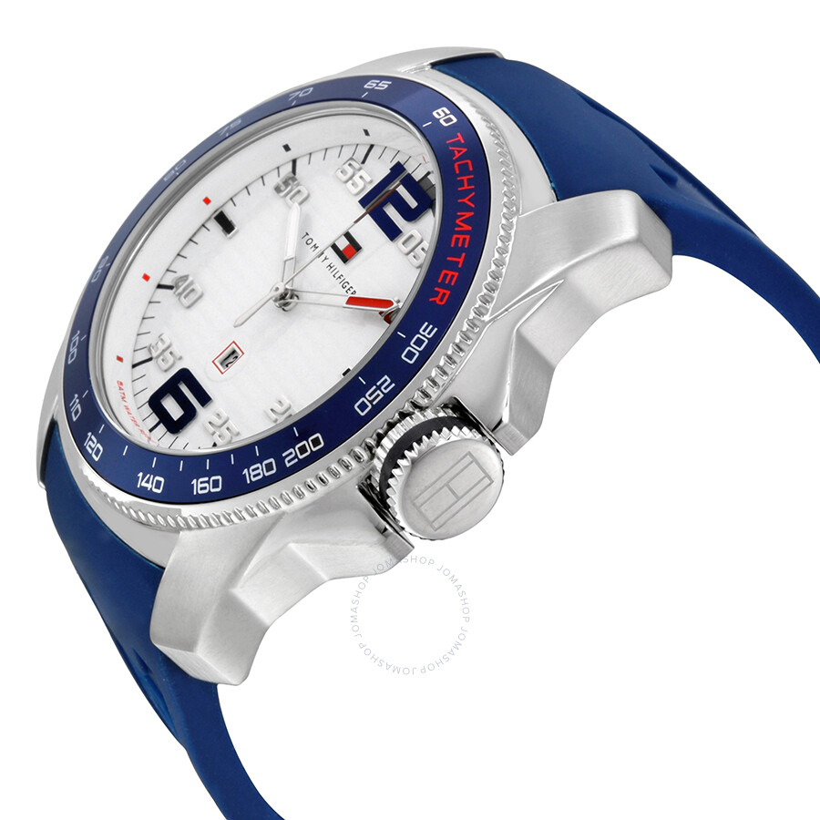 736f91754 ... Tommy Hilfiger Windsurf White Dial Blue Dial Men's Sports Watch 1790855  ...