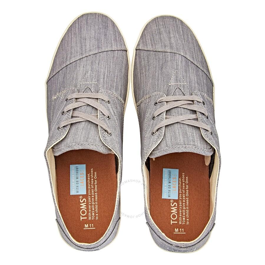 c4406e748c09 Toms Men s Paseo Sneakers Grey Denim- Size 9 - Shoes - Fashion ...
