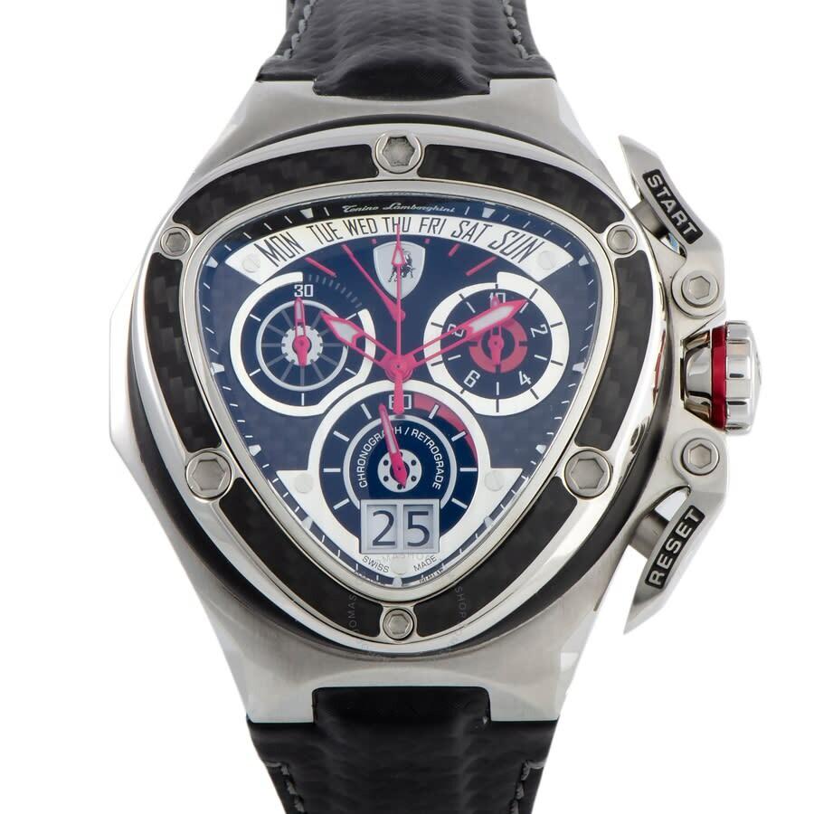 tonino lamborghini spyder 3000 chronograph black